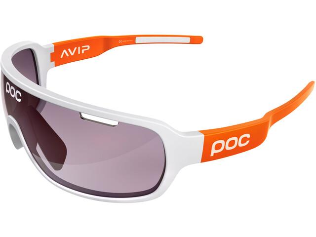 POC DO Blade AVIP Glasses hydrogen white/zink orange